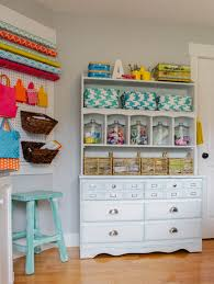 Arts And Crafts Room Ideas - creative thrifty u0026 small space craft room organization ideas