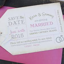 save the date website luggage tag save the date grand cayman
