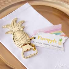kate aspen wedding favors a pineapples and palms inspired tropical wedding kate aspen