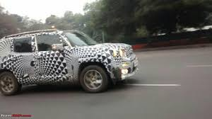 jeep renegade silver jeep renegade spied testing in india page 2 team bhp