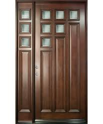 chic single front door designs single main door designs