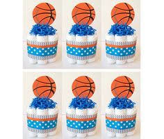 Sports Baby Shower Centerpieces by Basketball Lamb Baby Shower Decorations Party Kit
