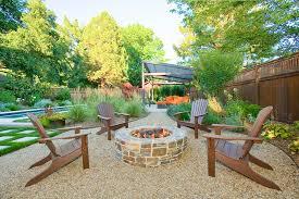 Backyard Pavilion Plans Patio Contemporary With Slope Orange