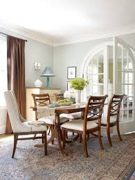 silver fox paint color dining room traditional with crown molding