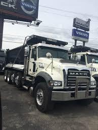 mack trucks 2017 mack gu713 quad axle dump trucks modern mack truck general
