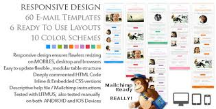 new responsive html newsletter email templates u2013 ewebdesign