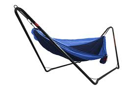 the new car camping grand trunk hangout hammock stand