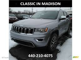 jeep grand cherokee limited 2017 silver 2017 billet silver metallic jeep grand cherokee limited 4x4