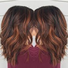 red brown balayage by rebecca at avante salon and spa west