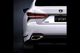 lexus is250 f sport exhaust review 2018 lexus ls 500 f sport to debut in new york automobile magazine