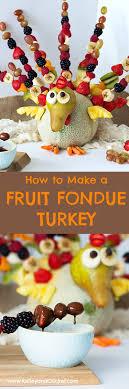 fruit turkey with chocolate fondue grain free paleo