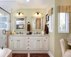 double vanity mirror bathroom traditional with bath accessories