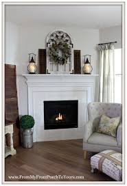 from my front porch to yours farmhouse fireplace mantel u0026 new paint