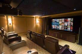 Amazing  Suggestions For The Dream Home Theater Ideas - Home theater stage design