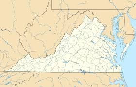 George Washington National Forest Map by Monticello Wikipedia