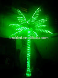 sale 3m realistic artificial outdoor lighted led palm coconut