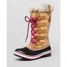 sorel tofino womens boots size 9 sorel cold weather lace up boots tofino cate polyvore
