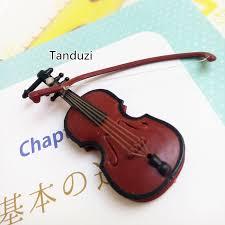 tanduzi dollhouse mini violin plastic miniature musical