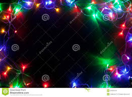 christmas frame with fairy lights stock images image 34920124
