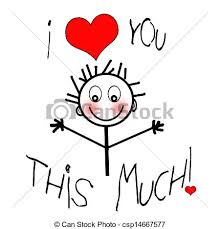 I Love You This Much Meme - make meme with i love you this much clipart