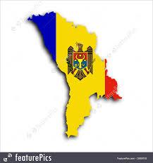 Moldova Map Map Flag Of Moldova Image
