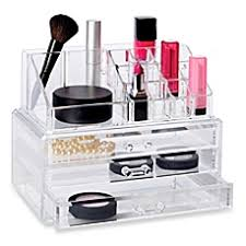 hair and makeup organizer vanity cosmetic organizers bed bath beyond