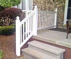 outdoor vinyl stair railing kits porch spiral staircase pictures