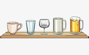 potence cuisine le verre de la cuisine de la potence une tasse de thé gobelet