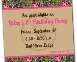 camo birthday invitations camo birthday invitations for
