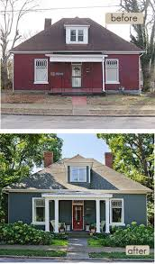 210 best before and after images on pinterest exterior remodel