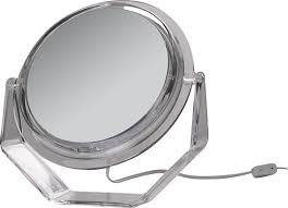 zadro lighted makeup mirror zadro surround light lighted vanity mirror silver zad ss35 best buy