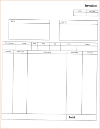 personal chef invoice template self emlpoyed professional