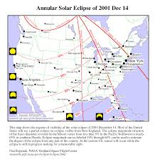 New England Usa Map by 2001 December 14 Eclipse From The Eastern Usa