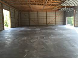 Barn Floor Pole Barn Floor Mechanicsburg Pa Albright Concrete Construction