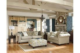Patterned Loveseats White Couch And Loveseat With Patterned Footrest For Your Living