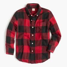 Flannel Shirts Flannel Shirt In Buffalo Plaid 49 50 30 B J Crew