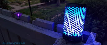 portable speaker with lights 808 audio canz glo portable wireless speaker mini review slashgear