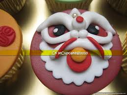 New Years Cupcake Decorating by Chinese New Year Cupcake It U0027s Tiger Time Berbagi Cerita Dari