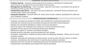 financial accountant cv sample senior financial accountant resume