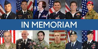 faces of the fallen soldiers who lost their lives in 2015