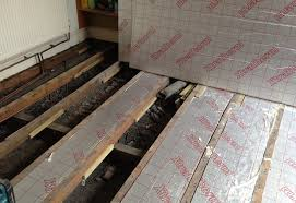 insulation for wooden floors interior and exterior home design