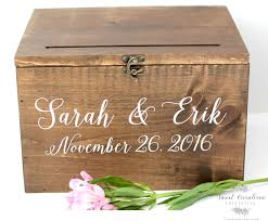 wedding money box wood wedding card box with lid wedding money box wedding card