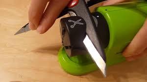 silvercrest electric all purpose sharpener for knives scissors