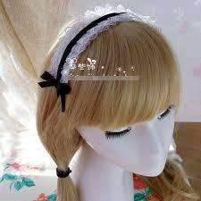 hair clasp diy handmade japanese style lace ribbon bowknot hair clasp