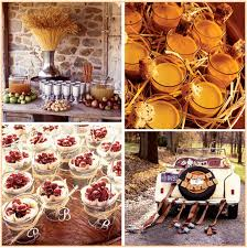 autumn wedding reception centerpieces beautiful wedding table