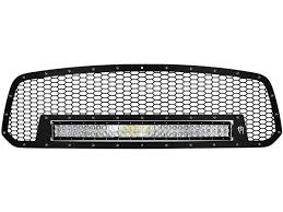 30 Curved Led Light Bar by 2013 16 Dodge Ram 1500 Grille With 30