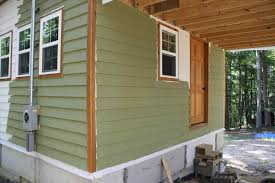 cedar green stained cedar siding siding u building a tiny timber