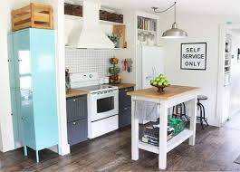 kitchen makeovers ideas small kitchen makeover in a mobile home