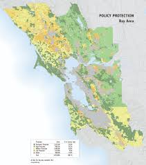 San Francisco County Map by Bay Area Policy Protection Map Greenbelt Alliance