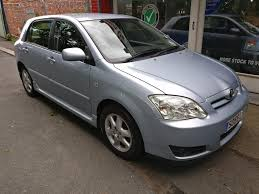 used toyota corolla manual for sale motors co uk
